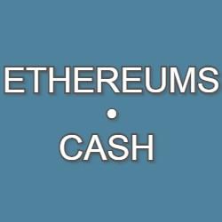 ETHEREUMS•CASH logo