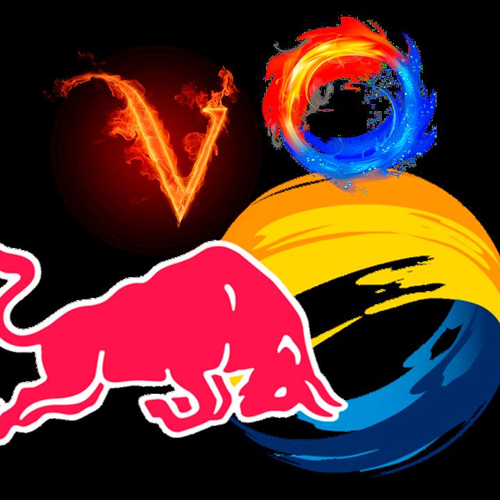 BullRun V8 Gold logo