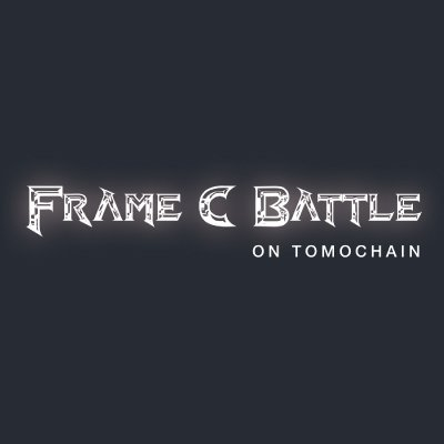 Frame C Battle on TomoChain logo