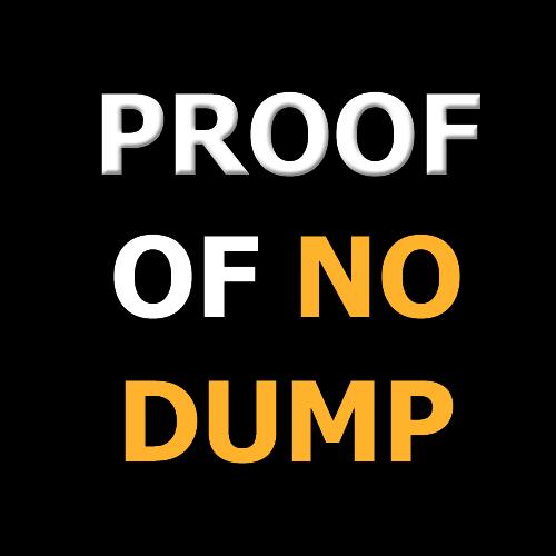 Proof Of No Dump (POND) logo