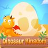 Dinosaur kingdom logo