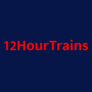 12HourTrains logo