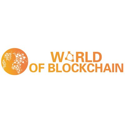World of Blockchain logo