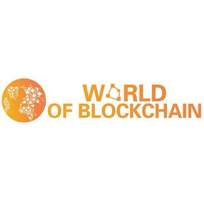 World of Blockchain logo