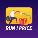 RUN!PRICE logo