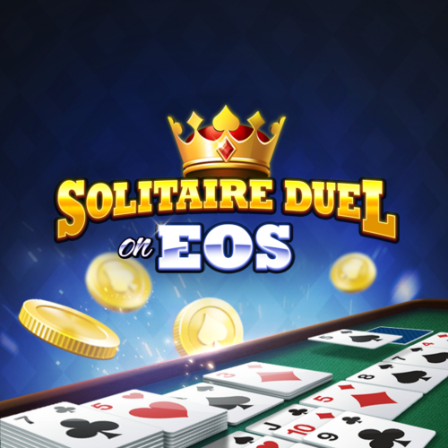 Solitaire Duel on EOS logo