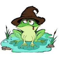 The Magic Frog logo
