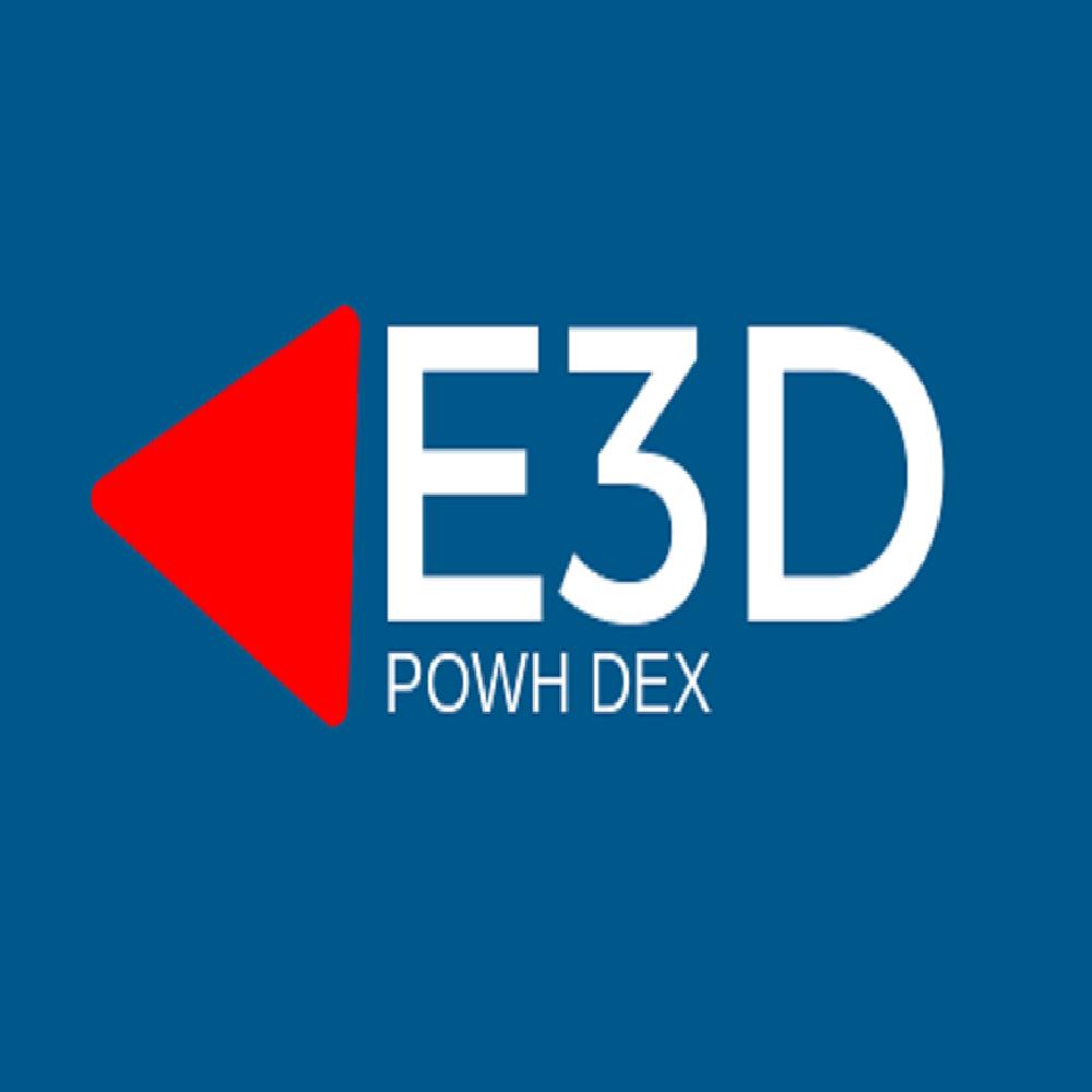 E3D logo