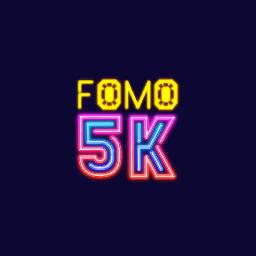 Fomo5k logo