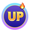 TRON UP logo