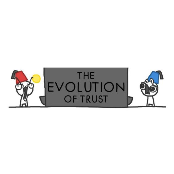 The Evolution of Trust logo