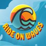 Ride on Waves logo