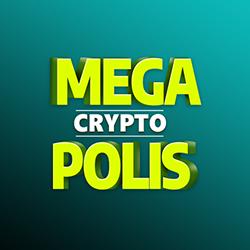 MegaCryptoPolis 3D logo