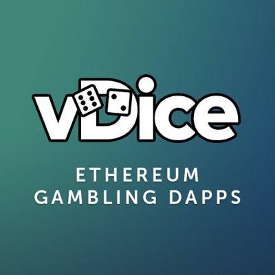 vDice logo