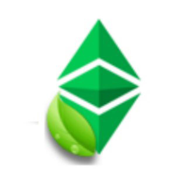 Green Ethereus logo
