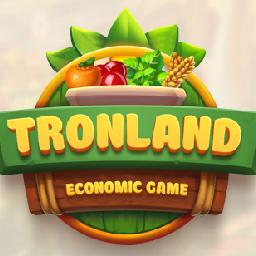 TRONLAND© - NEW Economic Game logo