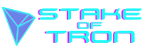 Stake of Tron logo