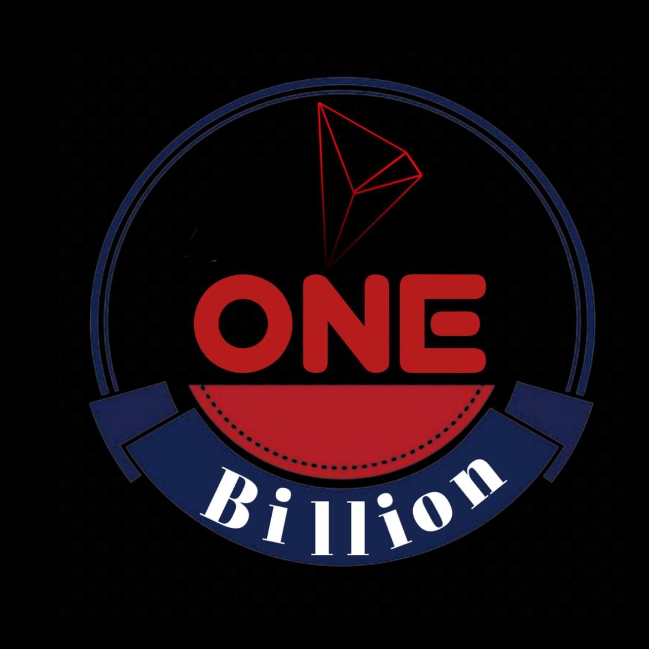 1 Billion Tron logo