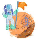 Tron Mars logo