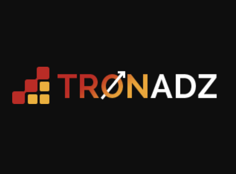 TRONADZ.com First Ever decentralized Advertising Smart Contract logo
