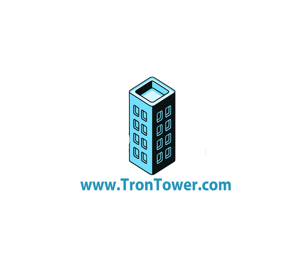 Tron Tower - tron investment site logo