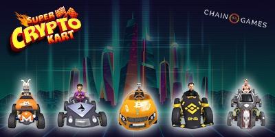 Super Crypto Kart logo