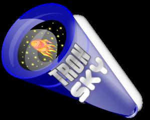 TronSky300x logo