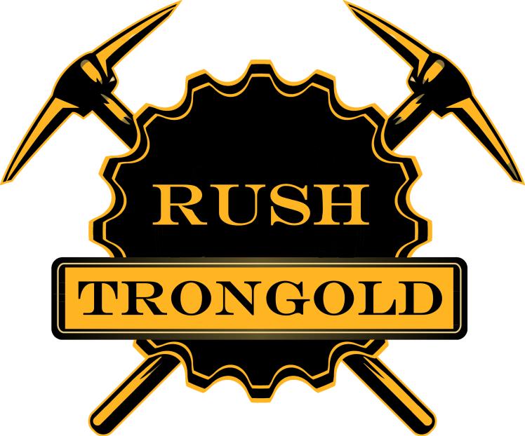 Trongold Rush logo