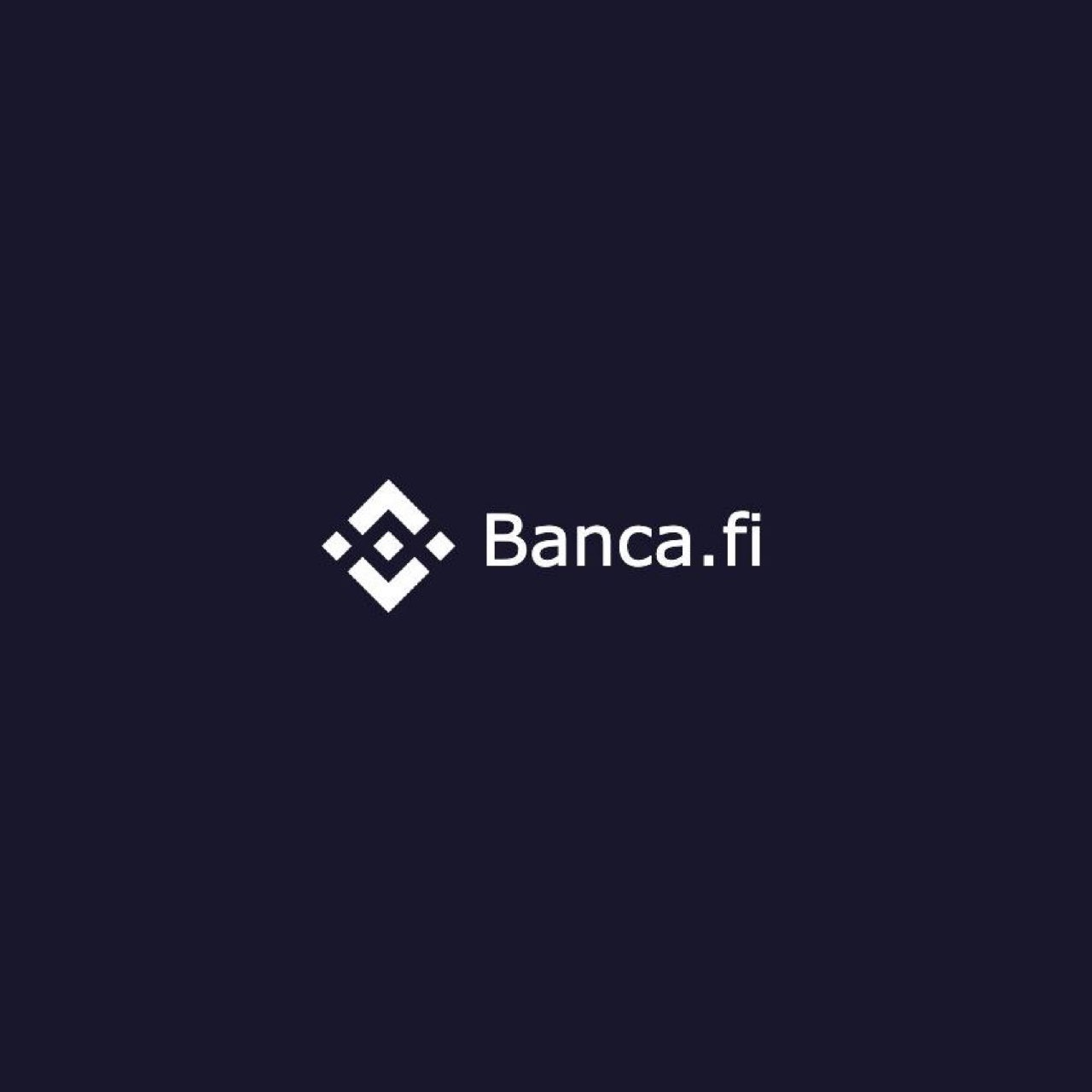 Bank Your BNB & Earn up to 20% Daily — Banca.fi logo