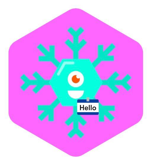 Snowflakes Hash logo