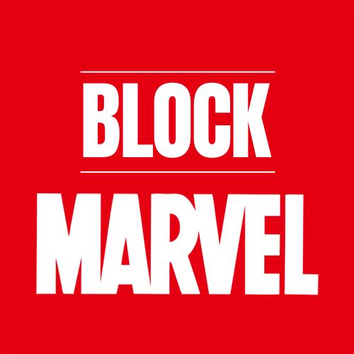 Block Marvel logo