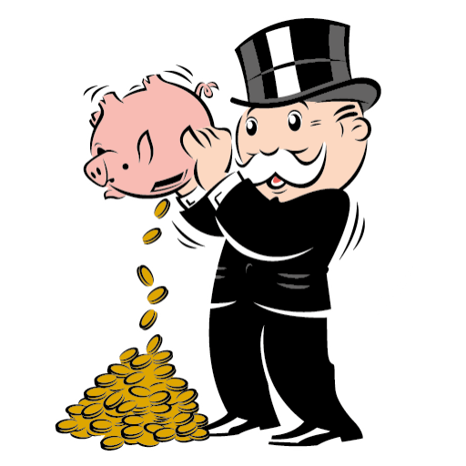 Cake Monopoly logo