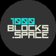 1000Blocks Space logo
