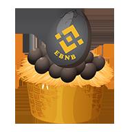 Unique Algo eBNB Farm Generate +10% BNB Daily & +25% Affiliate Commission.  Buy Chicken BNB , Re-Invest & Withdraw BNB. Strongest Community eBnb.Farm logo